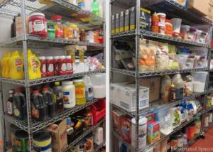 food storage equipment summer camp food service